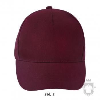 Gorras Sols Long Beach color Burgundy :: Ref: 146
