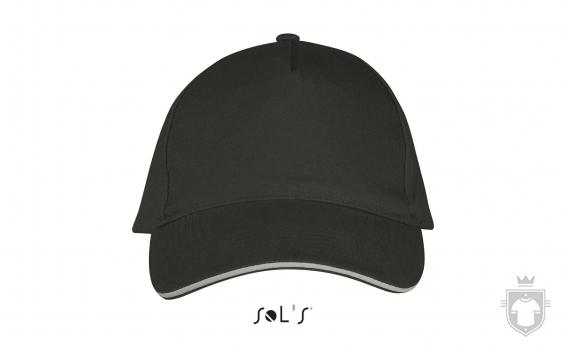 Gorras Sols Long Beach color Light grey - Dark grey :: Ref: 911