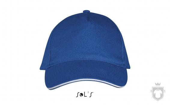 Gorras Sols Long Beach color Royal blue - White :: Ref: 913