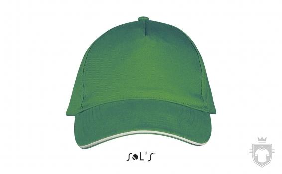 Gorras Sols Long Beach color Kelly green / White :: Ref: 920