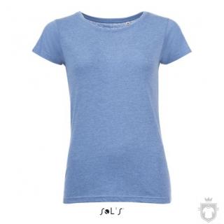 Camisetas Sols Mixed W color Heather blue :: Ref: 236