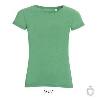 Camisetas Sols Mixed W color Heather green :: Ref: 262