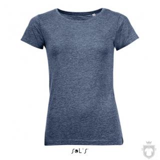 Camisetas Sols Mixed W color Heather navy :: Ref: 322