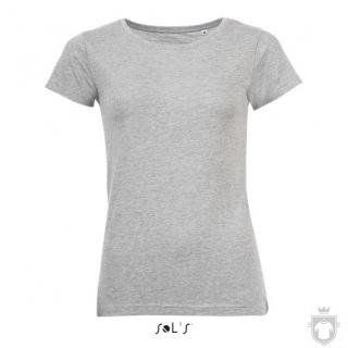 Camisetas Sols Mixed W color Grey Melange :: Ref: 350