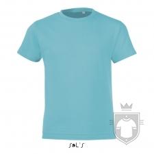 Camisetas Sols Regent FIT Kids color Atoll Blue :: Ref: 225