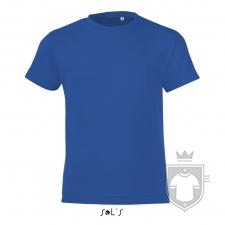 Camisetas Sols Regent FIT Kids color Royal Blue :: Ref: 241