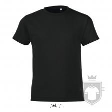 Camisetas Sols Regent FIT Kids color Black Deep :: Ref: 309