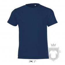 Camisetas Sols Regent FIT Kids color French Navy :: Ref: 319