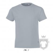Camisetas Sols Regent FIT Kids color Pure grey :: Ref: 342