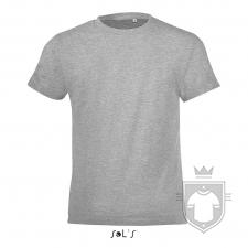 Camisetas Sols Regent FIT Kids color Grey Melange :: Ref: 350
