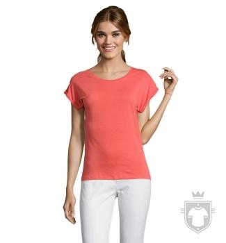 Camisetas Sols Melba color Coral :: Ref: 158