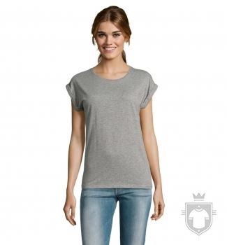 Camisetas Sols Melba color Grey Melange :: Ref: 350