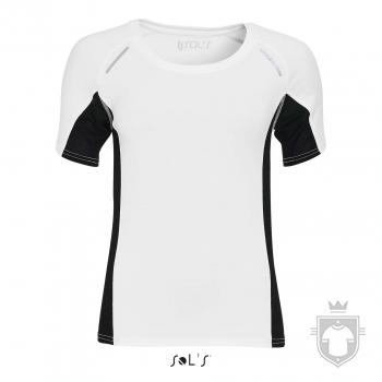 Camisetas Sols Sydney W color White :: Ref: 102