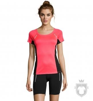 Camisetas Sols Sydney W color Neon Coral :: Ref: 153