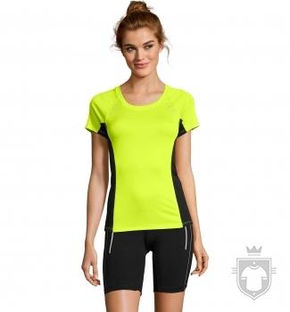Camisetas Sols Sydney W color Yellow Neon :: Ref: 306