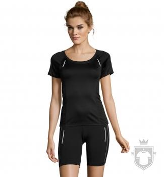 Camisetas Sols Sydney W color Black :: Ref: 312