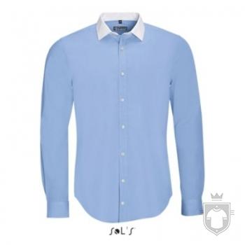 Camisas Sols Belmont color Sky Blue :: Ref: 220