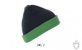 Gorras Sols Bonus color Kelly green / French navy :: Ref: 512