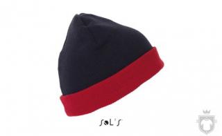 Gorras Sols Bonus color Red / French navy :: Ref: 925
