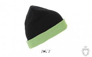 Gorras Sols Bonus color Black - Lime :: Ref: 931