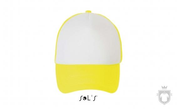 Gorras Sols Bubble color White / Neon yellow :: Ref: 514