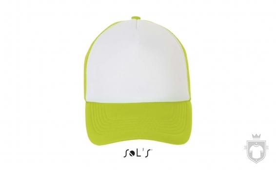 Gorras Sols Bubble color White / Neon green :: Ref: 516