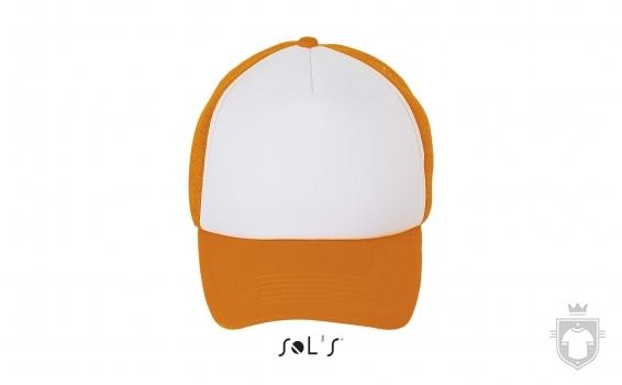 Gorras Sols Bubble color White / Neon Orange :: Ref: 517