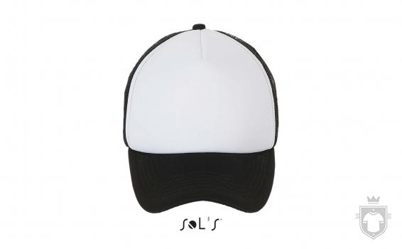 Gorras Sols Bubble color White  - Black :: Ref: 906