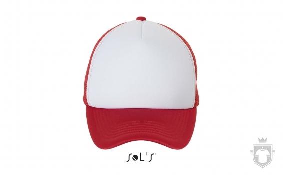 Gorras Sols Bubble color White  - Red :: Ref: 987