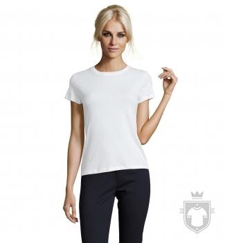 Camisetas Sols Regent W color White :: Ref: 102