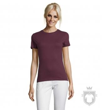 Camisetas Sols Regent W color Burgundy :: Ref: 146