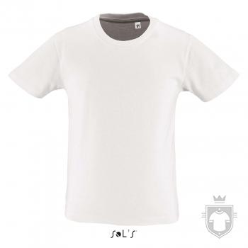 Camisetas Sols Milo K color White :: Ref: 102