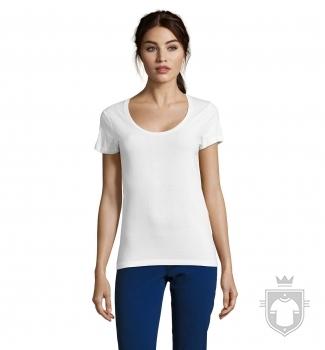 Camisetas Sols Metropolitan W color White :: Ref: 102
