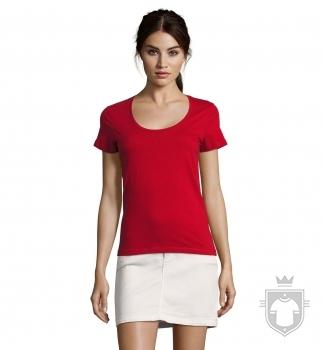 Camisetas Sols Metropolitan W color Tango red :: Ref: 154