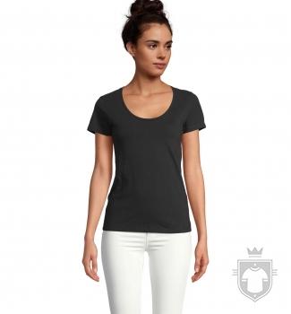 Camisetas Sols Metropolitan W color Black Deep :: Ref: 309