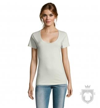 Camisetas Sols Metropolitan W color Verde crema :: Ref: 323