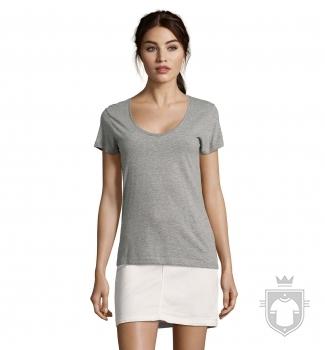Camisetas Sols Metropolitan W color Grey Melange :: Ref: 350