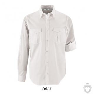 Camisas Sols Burma color White :: Ref: 102