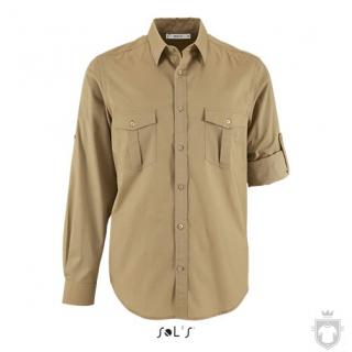 Camisas Sols Burma color Castaño :: Ref: 111