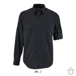 Camisas Sols Burma color Dark Blue :: Ref: 228