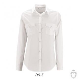 Camisas Sols Burma W color White :: Ref: 102