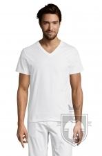 Camisetas Sols Master   cuello v color White :: Ref: 102