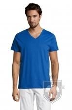 Camisetas Sols Master   cuello v color Royal Blue :: Ref: 241
