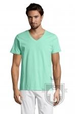 Camisetas Sols Master   cuello v color Mint :: Ref: 285