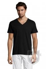 Camisetas Sols Master   cuello v color Black Deep :: Ref: 309