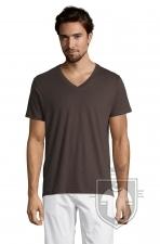 Camisetas Sols Master   cuello v color Dark grey :: Ref: 384