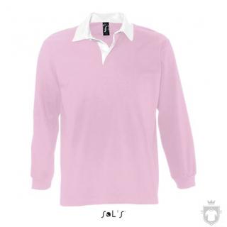 Polos Sols Pack m manga larga color Pink :: Ref: 147