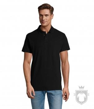 Polos Sols Spring ii tallas grandes color Black :: Ref: 312