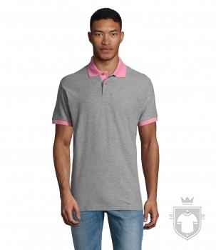 Polos Sols Prince color Grey melange / Orchid pink :: Ref: 923