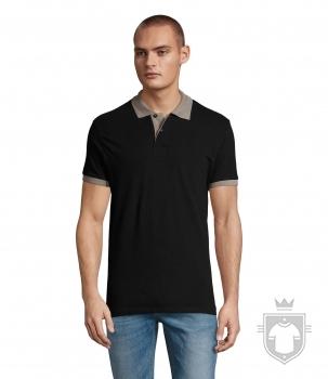 Polos Sols Prince color Black / Grey :: Ref: 966